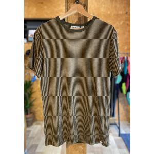 SALE!! Rhythm(リズム)Everyday Stripe TEE Tシャツ VINTAGE OLIVE Mサイズ|oceanzonesurf