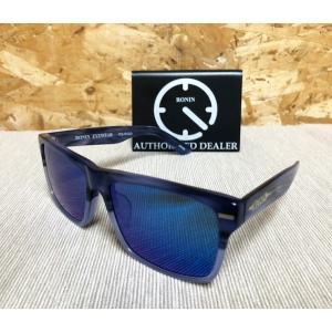 SALE!! RONIN(ロニン)サングラス 「GIFT(ギフト)」 フレーム:ブルーマーブル レンズ:ブルーミラー 偏光レンズ|oceanzonesurf
