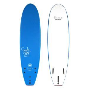 スマイルオンサーフ 213センチ ブルー ソフトボード ファンボード 子供用 KIDS用 送料無料|oceanzonesurf