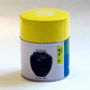 宇治抹茶<薄茶>相生の白 100g缶入|ocha-kobayashi-shop