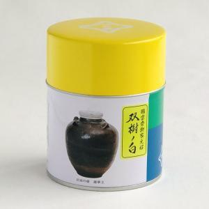 宇治抹茶<薄茶>双樹の白 100g缶入|ocha-kobayashi-shop