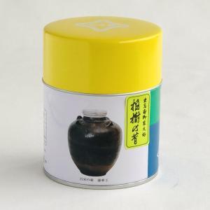 宇治抹茶<濃茶>柏樹の昔 100g缶入|ocha-kobayashi-shop