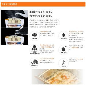 非常食 送料無料 尾西食品 五目ごはん アルフ...の詳細画像2