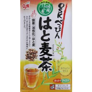 国産活性化はと麦100% OSKべっぴんはと麦茶 6g×24パック