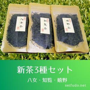 2021年新茶3種セット|ochaya