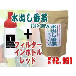 水出し番茶+フィルターインボトル(レッド)|ochaya
