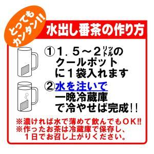 濃く出る水出し番茶ティーバッグ15g×30P入【九州産茶葉使用】 水出し緑茶 水出しお茶|ochaya|04