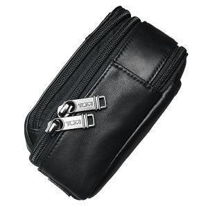 TUMI セカンドバッグ トゥミ クラッチバッグ ポーチ 本革 レザー 黒 ブラック|ocinc|05