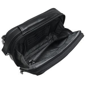 TUMI セカンドバッグ トゥミ クラッチバッグ ポーチ 本革 レザー 黒 ブラック|ocinc|06