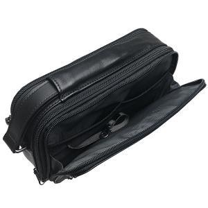 TUMI セカンドバッグ トゥミ クラッチバッグ ポーチ 本革 レザー 黒 ブラック|ocinc|07