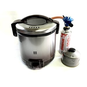 アウトドア用及び防災、災害用の特別仕様に施した炊飯器セットです。  キャンプなどで簡単に、しかも早く...