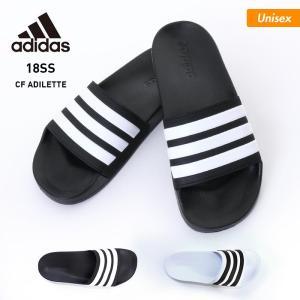 adidas/アディダス メンズ&レディース ロッカー サンダル クッション さんだる シャワーサンダル CF_ADILETTE|ocstyle