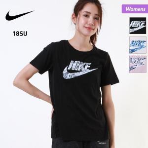 NIKE/ナイキ レディース 半袖 Tシャツ ティーシャツ クルーネック ジム フィットネス ウェア 911417|ocstyle