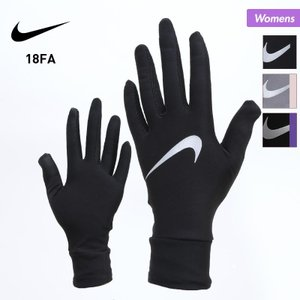 NIKE/ナイキ レディース ランニング グローブ ランニング用グローブ てぶくろ 手袋 スマホ対応 タッチパネル対応 ジョギング マラソン 防寒 RN2033