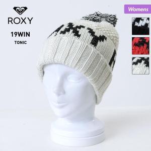 ROXY/ロキシー レディース ニット帽 二つ折り ビーニー 帽子 ぼうし ニットキャップ 折り返し...