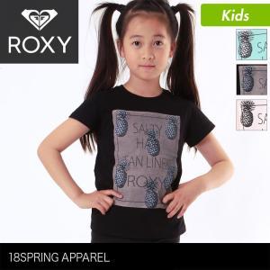 ROXY/ロキシー キッズ 半袖Tシャツ MINI SALTY HAIR TANLINES ROXY...