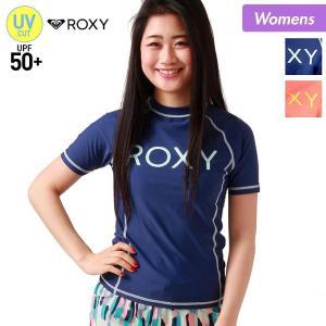 ROXY/ロキシーレディース半袖ラッシュガード水着TシャツティーシャツUPF50+UVカットRLY171038
