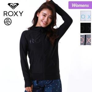 ROXY/ロキシー レディース ラッシュガード パーカー ラッシュパーカー 長袖 フード付き 紫外線対策 水着 UVカット 吸汗速乾  RLY185070|ocstyle