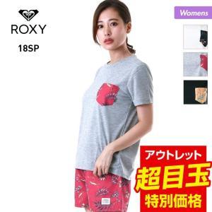 ROXY/ロキシー レディース ラッシュガード 半袖Tシャツ STORMY FLOWER POCKE...
