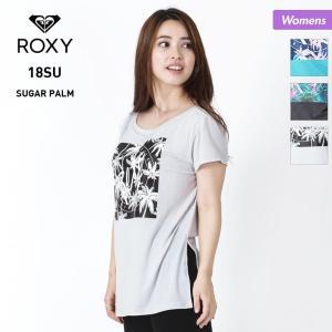 ROXY/ロキシー レディース 半袖Tシャツ SUGAR PALM S/S TEE 2018 SUM...