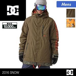 DC SHOE/ディーシー メンズ スノーボードウェア ジャケット スノージャケット スノボウェア 上 スノーウェア EDYTJ03005|ocstyle
