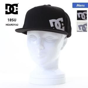 DC/ディーシー メンズ キャップ 帽子 ぼうし 平つば フラットバイザー サイズ調節可 紫外線対策 ADYHA03494|ocstyle
