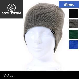 VOLCOM/ボルコム メンズ シングル ニット帽 ビーニー...