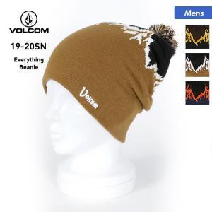 VOLCOM/ボルコム メンズ シングル ニット帽 帽子 ぼうし ニットキャップ ビーニー スノーボ...