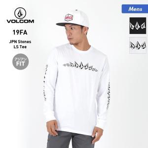 VOLCOM/ボルコム メンズ 長袖 Tシャツ ティーシャツ トップス クルーネック ロゴ ロングT...