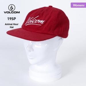 VOLCOM/ボルコム レディース キャップ 帽子 ぼうし フラットバイザー 平つば サイズ調節可能...