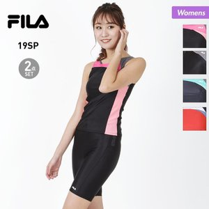 FILA/フィラ レディース タンキニ水着 カラー切替タンキニ  319-206 2019-FILA...