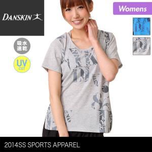 DANSKIN/ダンスキン レディース ルーズ フィット半袖Tシャツ ティーシャツ トップスダンスウェア フィットネスウェア スポーツウェア{DA74123}|ocstyle