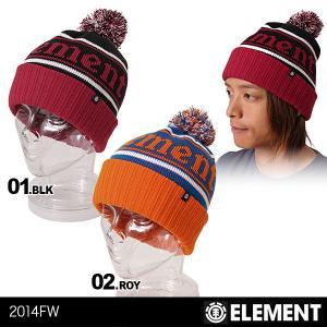 ELEMENT/エレメント メンズ 折り返し ニット帽子 ニットキャップ ウォッチキャップ 毛糸の帽子 ぼうし スノーボード 防寒 ダブル 男性用 AE022-930|ocstyle