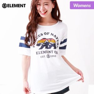 ELEMENT/エレメント レディース 半袖 Tシャツ ティーシャツ クルーネック AH023-207|ocstyle