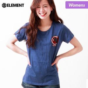ELEMENT/エレメント レディース 半袖 Tシャツ ティーシャツ クルーネック AH023-203|ocstyle