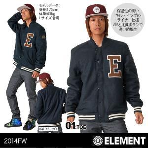 ELEMENT/エレメント メンズ アウター ジャケット ワッペン 男性用 人気スケートボード ブランド スケボーブランド AE022-782|ocstyle
