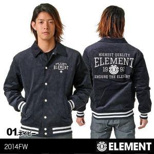 ELEMENT/エレメント メンズ アウタージャケット ボタンアップジャケット コーチジャケット 防寒 AE022-754|ocstyle