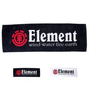 ELEMENT/エレメント メンズ&レディース ロゴ スポーツタオル  AF021-990|ocstyle