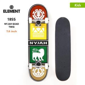 ELEMENT/エレメント キッズ スケートボード コンプリートデッキ 7.625インチ スケボー デッキ トラック ウィール セット AI027-414|ocstyle