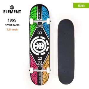 ELEMENT/エレメント キッズ スケートボード コンプリートデッキ 7.5インチ スケボー デッキ トラック ウィール セット AI027-416|ocstyle