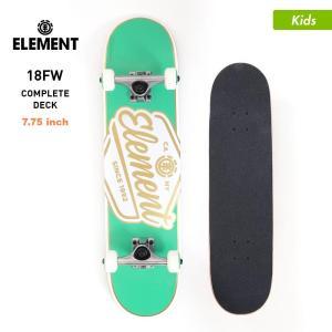 ELEMENT/エレメント キッズ スケートボード コンプリートデッキ 7.75インチ スケボー デッキ トラック ウィール セット AI027-425|ocstyle