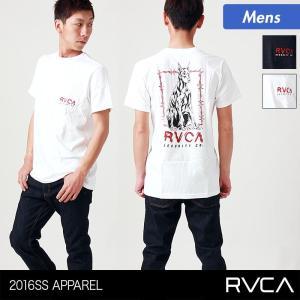 RVCA/ルーカ メンズ 半袖 Tシャツ ティーシャツ ロゴ AG042-215 ocstyle