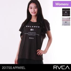 RVCA/ルーカ レディース 半袖 Tシャツ ティーシャツ クルーネック Uネック トップス はんそで AH043-305 ocstyle