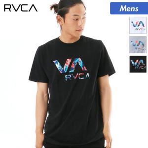 RVCA/ルーカ メンズ 半袖 Tシャツ ティーシャツ ロゴ 柄 クルーネック AI041-226|ocstyle