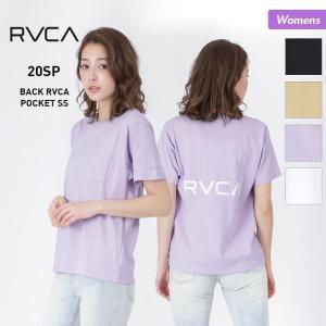 RVCA/ルーカ レディース 半袖 Tシャツ ティーシャツ トップス バックロゴ ルカ BA043-212|OC STYLE PayPayモール店