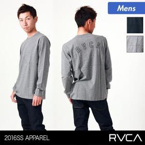 RVCA/ルーカ メンズ 長袖 Tシャツ ティーシャツ ロングTシャツ ロンT ロゴ AG042-050 ocstyle