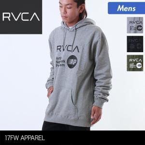 RVCA/ルーカ メンズ 長袖 パーカー プルオーバー フード付き スウェット AH042-011 ocstyle