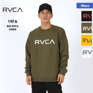 RVCA/ルーカ メンズ トレーナー BIG RVCA CREW 2019 FALL AJ042-0...