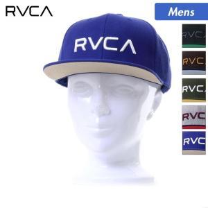 RVCA/ルーカ メンズ キャップ 帽子 ぼうし フラットバイザー 平つば サイズ調節可 スナップバック AI041-908 ocstyle