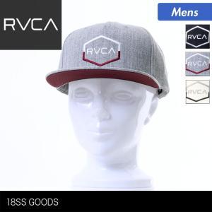 RVCA/ルーカ メンズ キャップ 帽子 ぼうし フラットバイザー 平つば サイズ調節可 スナップバック AI041-911 ocstyle